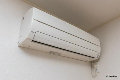 エアコン付きです。