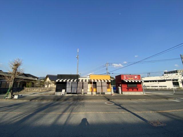 前面道路含む現況写真