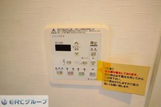 浴室乾燥暖房機付きです。