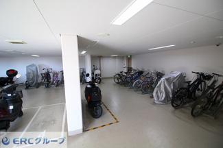 【駐輪場】グランドメゾン六甲カネディアンヒル