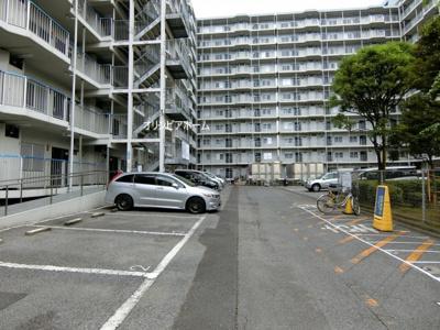【外観】大島スカイハイツ  10階 角 部屋 2014年 リ ノベーション済