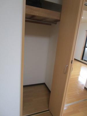 洋室7.5帖 クローゼット