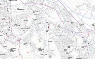【地図】羽島借地