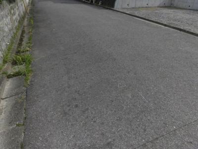【前面道路含む現地写真】大津市和邇高城192-160 売土地