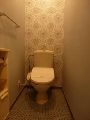 102パティオ壱番館トイレ
