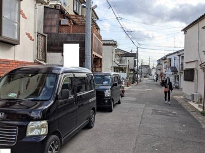 【前面道路含む現地写真】京都市伏見区醍醐南里町