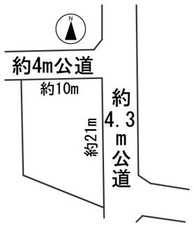 【区画図】56272 岐阜市切通土地