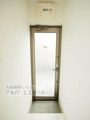 【玄関】サークルハウス竹ノ塚壱番館
