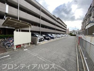 【バルコニー】ファミール六甲道
