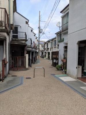 【前面道路含む現地写真】京都市山科区東野門口町
