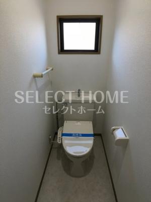 【トイレ】ハートホーム美川B