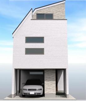 ◇Appearance◇外壁はニチハ製サイディングを標準採用。耐火仕様・セルフクリーニング機能付きのマイクロガード仕様でメンテナンスコストも大幅削減!【道路正面からのイメージ】