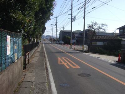 【前面道路含む現地写真】鳥取市徳尾土地