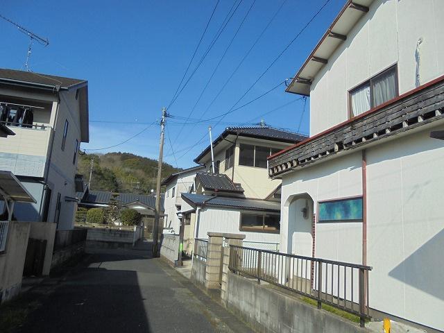 【前面道路含む現地写真】飯塚市相田土地