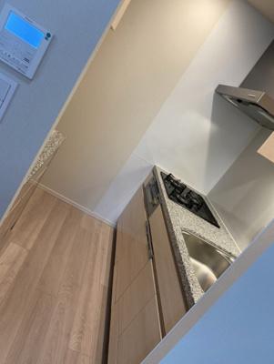 【キッチン】パークタワー晴海 44階部分 2019年築 空室