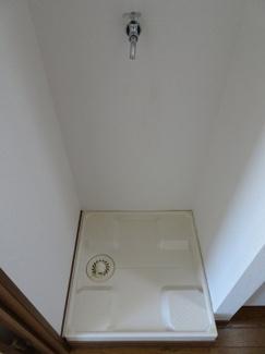 深尾マンション 洗濯機置き場は室内(キッチン横)にあります