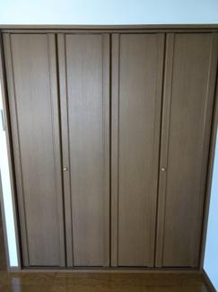 深尾マンション 洋室にあるクローゼット