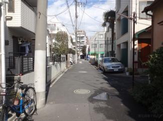深尾マンション 物件前 閑静な住宅街で静かな環境です