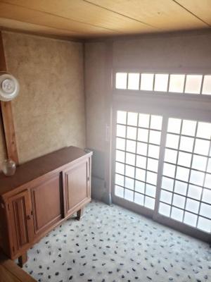 【玄関】鳥取市桂木中古戸建て