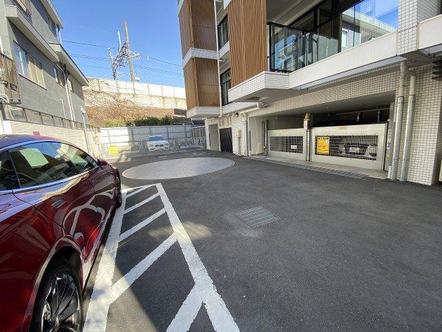【駐車場】シティハウス二子玉川