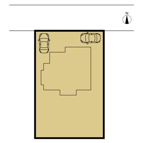 【区画図】伊勢崎市波志江町 中古住宅