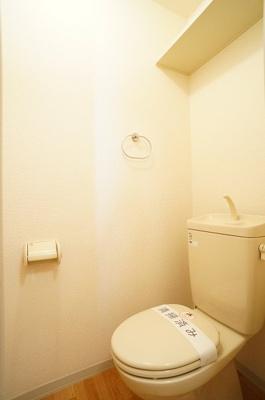 トイレ(上部収納有り)