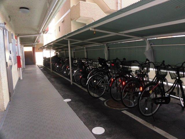 駐輪場スペースです。