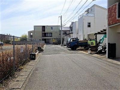 【前面道路含む現地写真】神戸市垂水区潮見が丘1丁目 1号棟 新築戸建