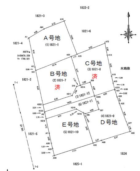 【区画図】神田
