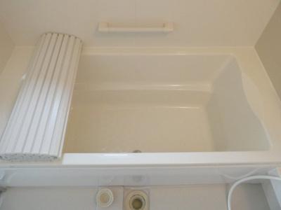 落ち着いた空間の追い炊き機能付きお風呂です