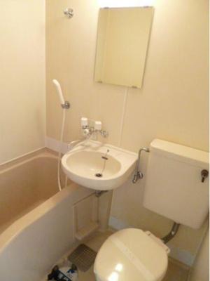 【浴室】スカイコート青戸