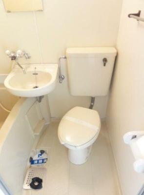 【トイレ】スカイコート青戸