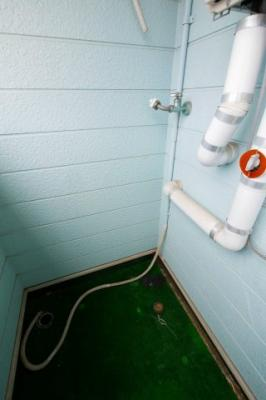 センチュリー205 洗濯置き場