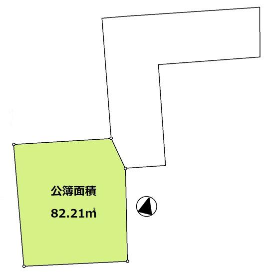 【土地図】ふじみ野市南台1丁目/売地