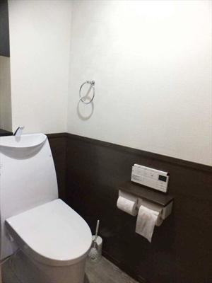 【トイレ】 温水洗浄便座