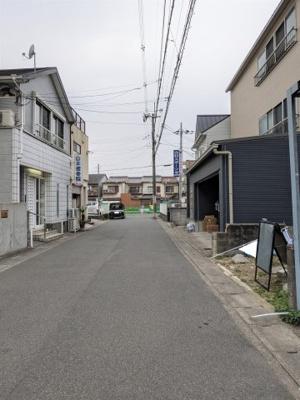 【前面道路含む現地写真】京都市山科区東野八代