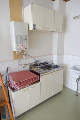 【キッチン】関目1丁目貸店舗・事務所