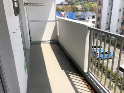 【バルコニー】北須磨団地C1棟