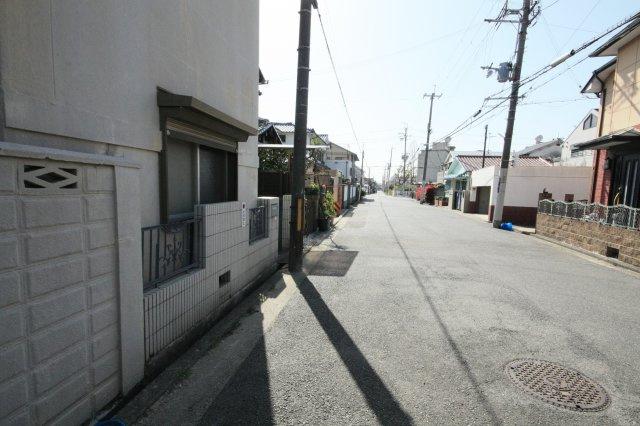 【前面道路含む現地写真】堺市西区浜寺船尾町西 新築一戸建て