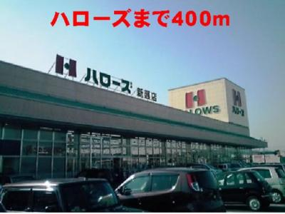 ハローズ新涯店まで400m
