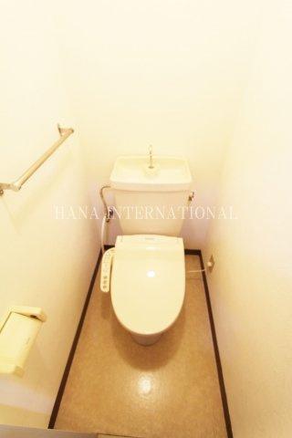 【トイレ】国領ロイヤルD