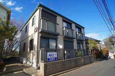 積水ハウス施工の賃貸住宅シャーメゾン♪東急東横線「綱島」駅より徒歩9分!ペットOK♪ワンちゃん・猫ちゃんと一緒に暮らせる2階建てアパートです☆