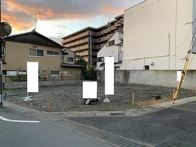 【外観】京都市山科区音羽前出 3区画3号地