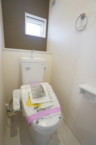 2階トイレもあって安心ですね。