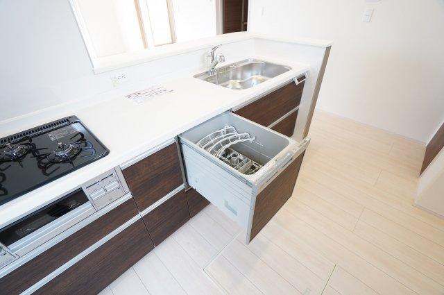 嬉しい食洗機付きです♪家事の時短にもなりますよ。