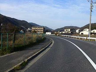 【前面道路含む現地写真】広島市安佐北区大林町代田