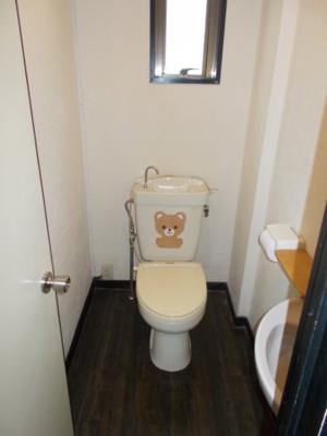 【トイレ】城が山コーポ1F 北側店舗