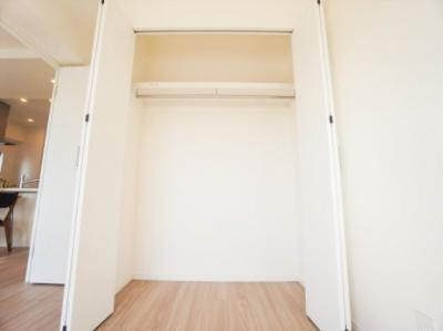 南側洋室5.5帖のクローゼット