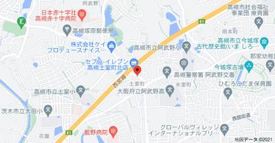 【地図】吉田ハイツ