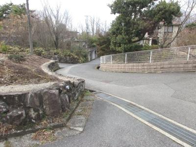 【前面道路含む現地写真】神戸市北区道場町生野